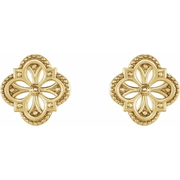 Clover Earrings - Evergreen Jewelry