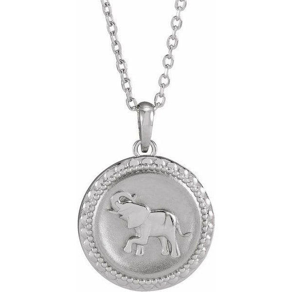 Elephant Necklace - Evergreen Jewelry