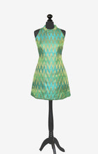 Load image into Gallery viewer, Green Zig Zag Kurti