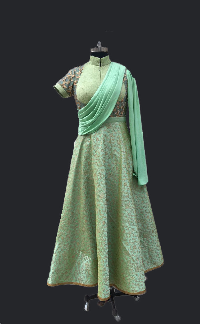 Statement Anarkali Gown
