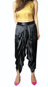Tulip Black Dhoti Pants
