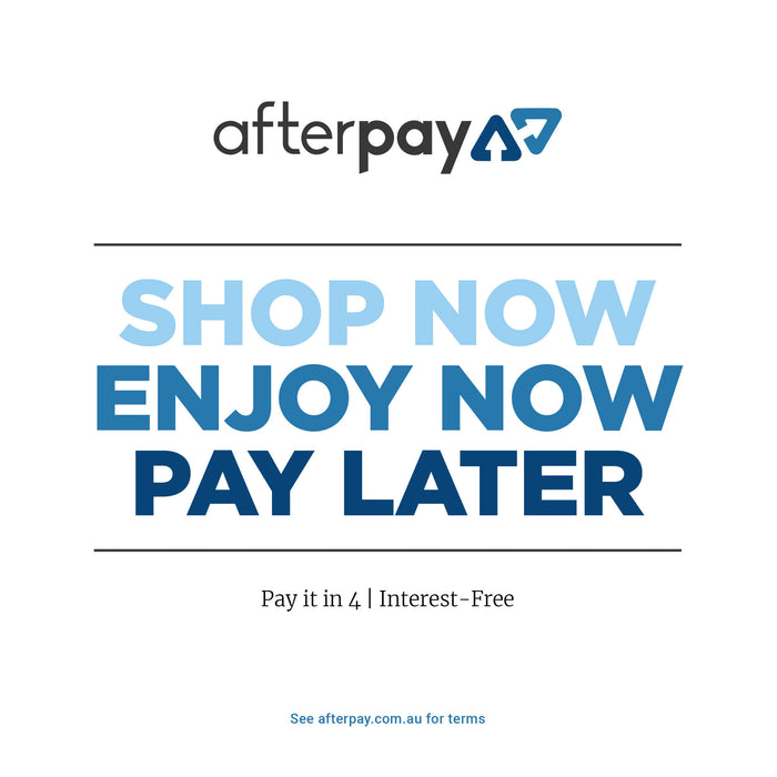 Afterpay Available at Hammers & Wands Gift Shop
