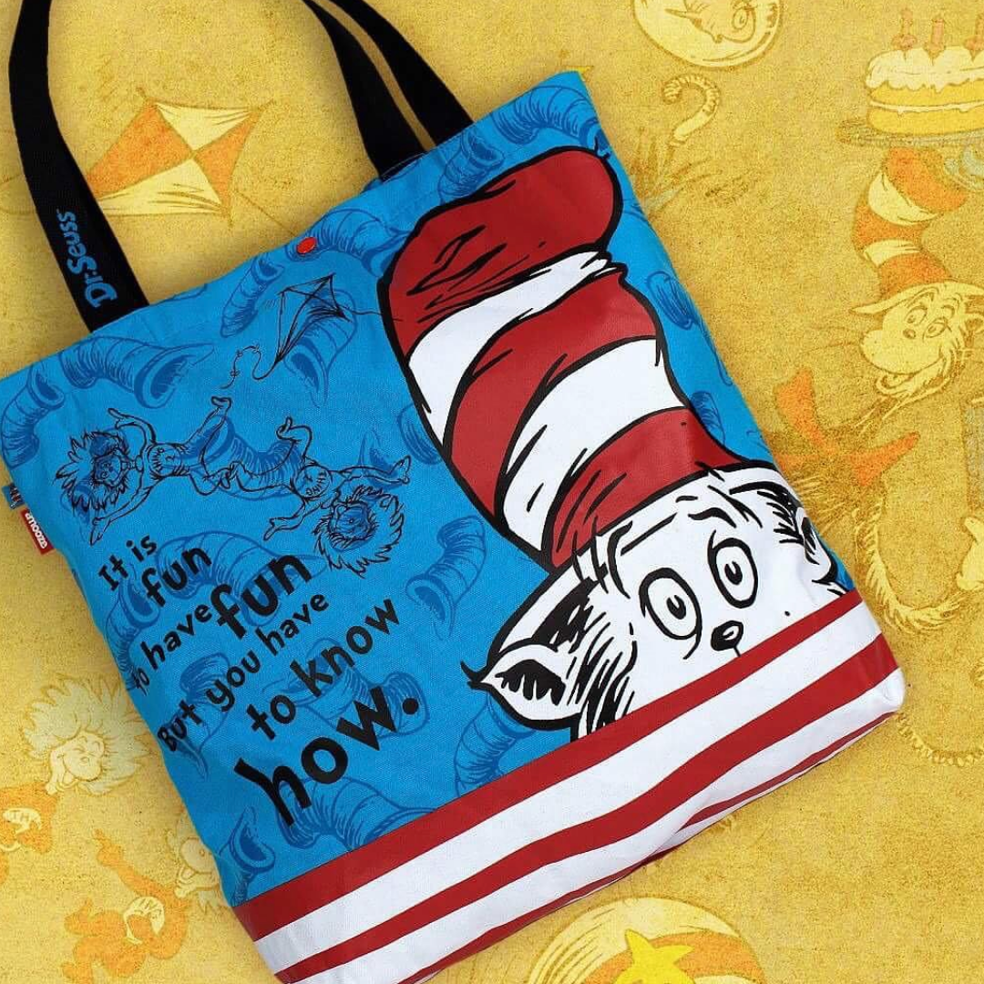 dr seuss kids range totes lunch bags pencil cases and more