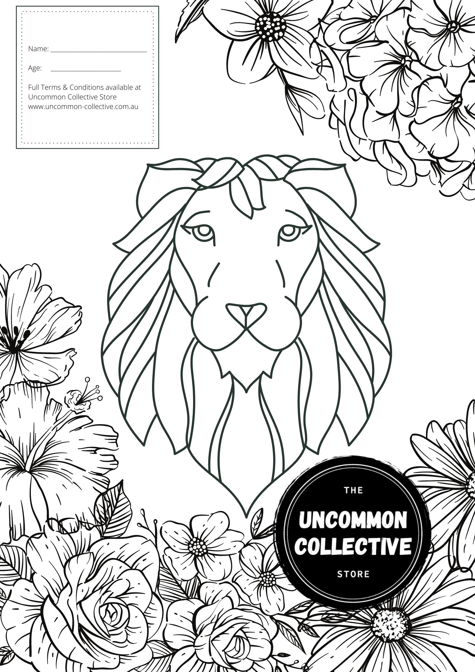 Colour & Win Eugy's at Uncommon Collective Store Castle Hill these School Holidays