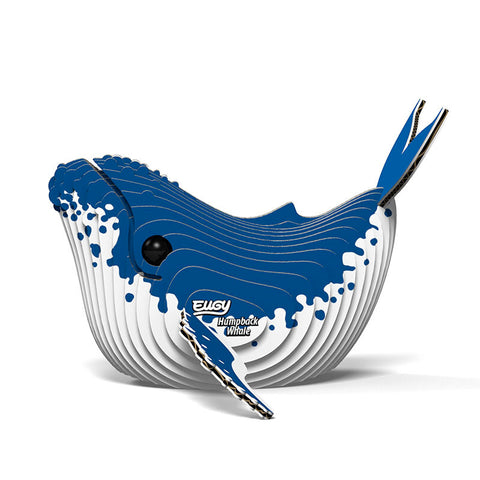 DoDoLand Humpback Whale 3D Puzzle Collectible Model