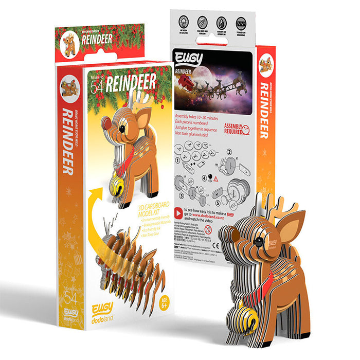 DoDoLand Reindeer 3D Puzzle Collectible Model