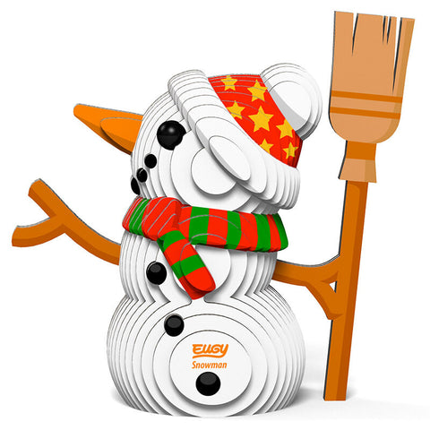 DoDoLand Snowman 3D Puzzle Collectible Model