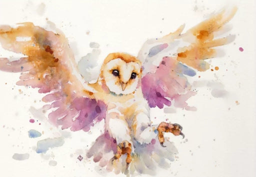 Sillier Than Sally - A4 Print - Landscape - Twilight Owl