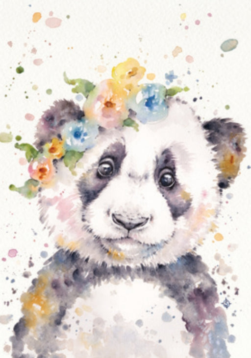 Sillier Than Sally - A4 Print - Portrait - Little Panda