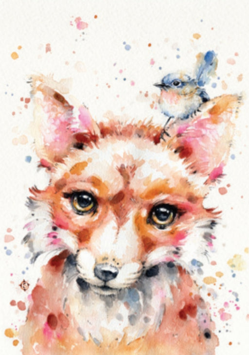 Sillier Than Sally - A4 Print - Portrait - Little Fox