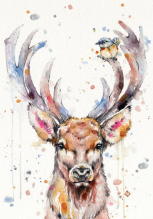 Sillier Than Sally - A4 Print - Portrait - Deery Me