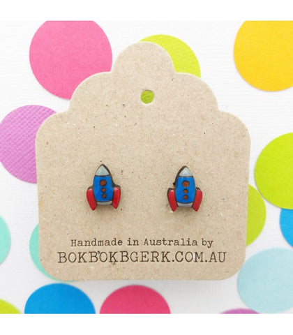 Bok Bok B'Gerk ROCKET EARRINGS