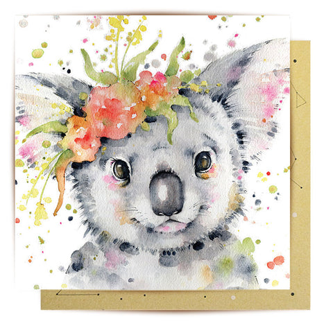 La La Land Greeting Card G'day Cutie