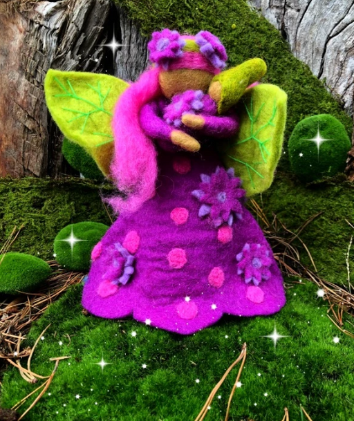 Himalayan Journey - Fairy Mother Amethyst - Large