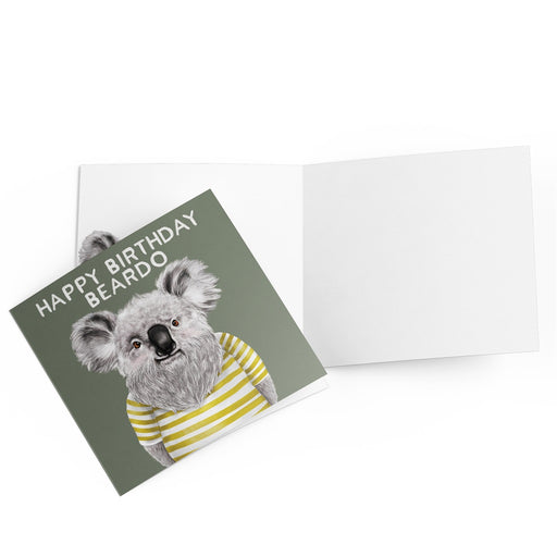 La La Land Greeting Card Beardo