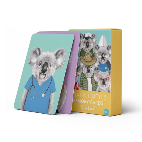 La La Land Memory Cards - Koala Cuties
