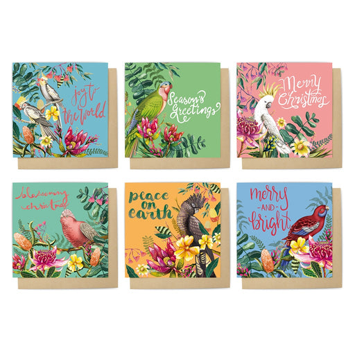La La Land Christmas Card Set Floral Paradiso