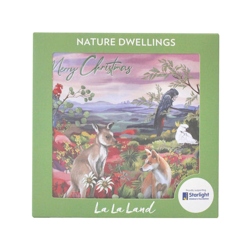 La La Land Christmas Card Set Nature Dwellings