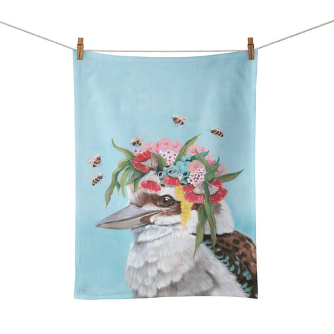 La La Land Kookaburra & Bees Tea Towel
