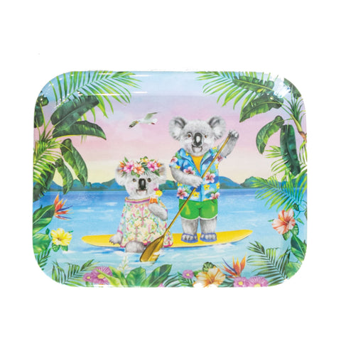La La Land Sunshine Lovers Melamine Tray
