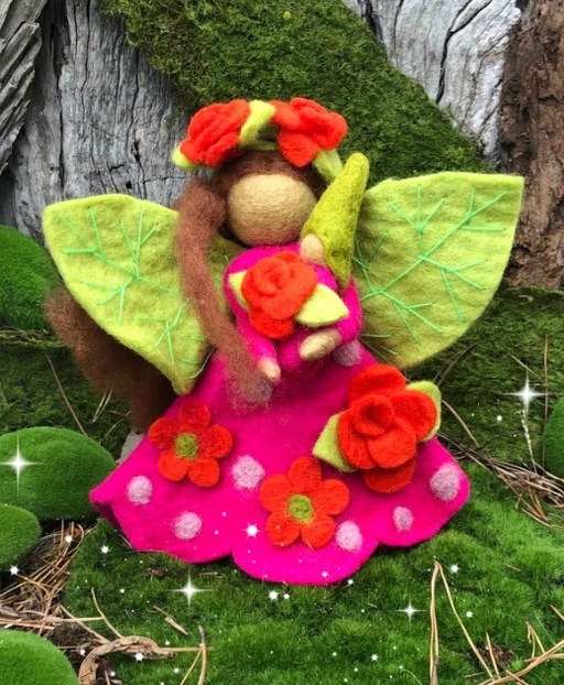 Himalayan Journey - Fairy Mother Rose - Large
