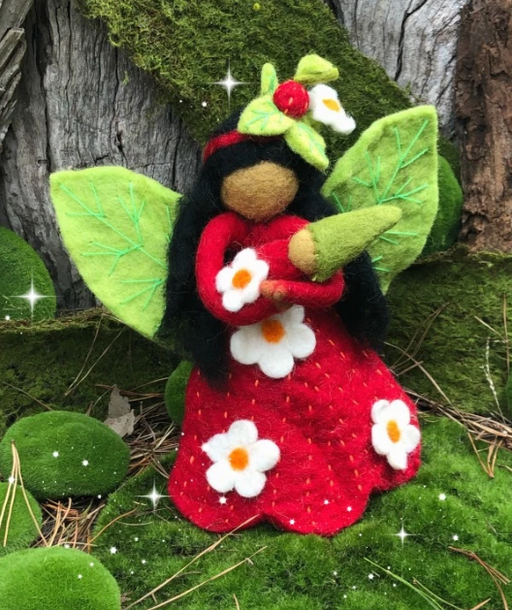 Himalayan Journey - Fairy Mother Strawberry - Large
