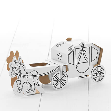 Calafant Activity Models Level 1 - Horse & Carriage