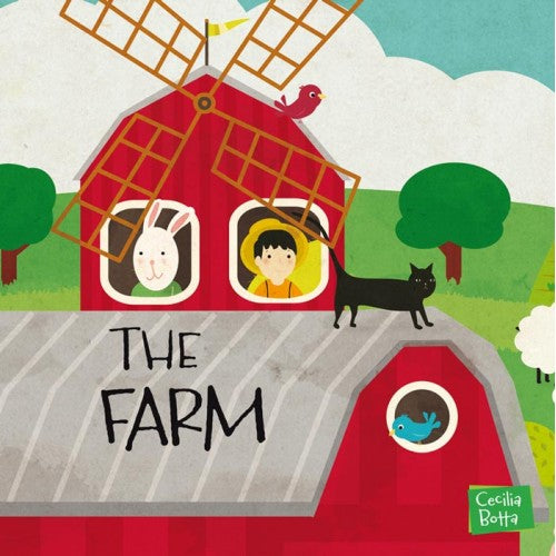 Sassi Junior Puzzle & Book - The Farm