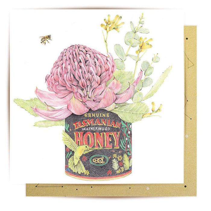 La La Land Greeting Card Honey I'm Home