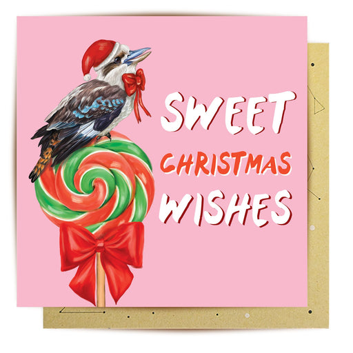 La La Land Greeting Card Sweet Christmas Wishes