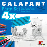 Calafant Activity Models Party Set Pirate