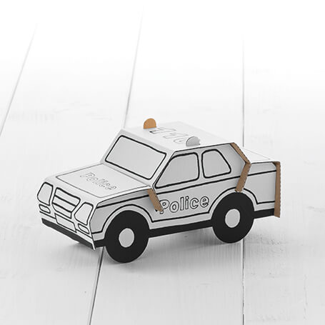 Calafant Activity Models Level 1 - Police Car