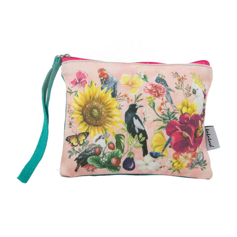 La La Land Secret Garden Birds Coin Purse