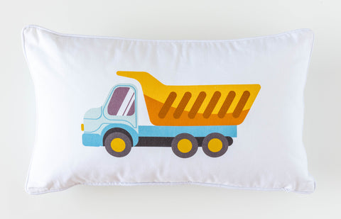 Cotton Cushion - Tipper Truck