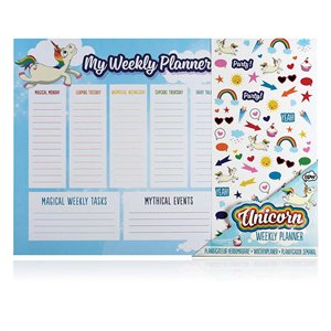IS Gifts - Unicorn - Weekly Planner