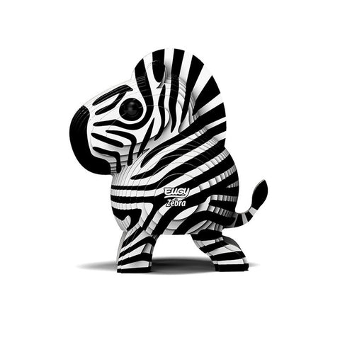 DoDoLand Zebra 3D Puzzle Collectible Model