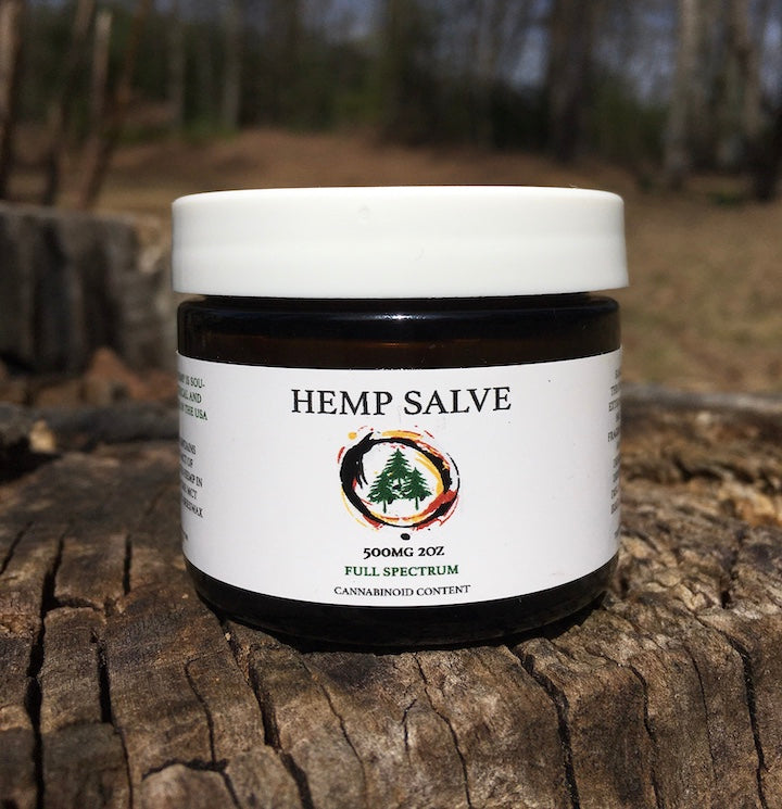 HEMP SALVE (2oz) - Unscented
