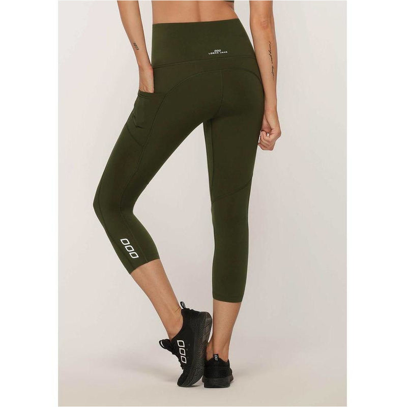 No Ride Booty 7/8 Tight - Luxury Green