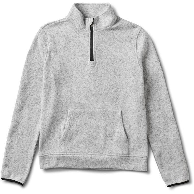 Durango 1/2 Zip - Heather Grey