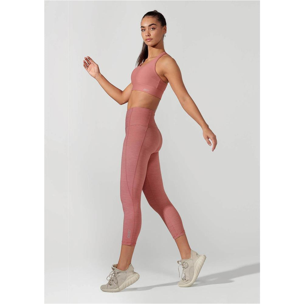 LJ Skinny Back Tech Sports Bra - Powdered Pink