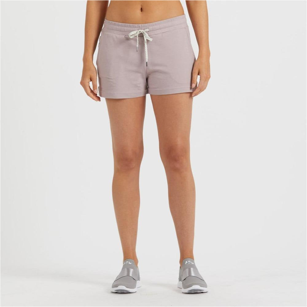 Womens Halo Performance Short - Dusk Heather