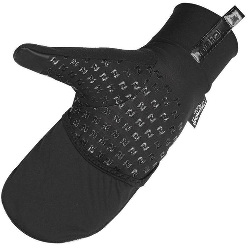 Unisex Flash Mitten - Black/Reflective
