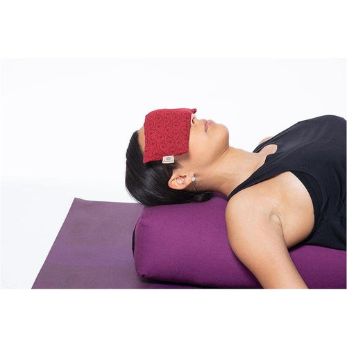 Unisex Essential Eye Pillow - Red