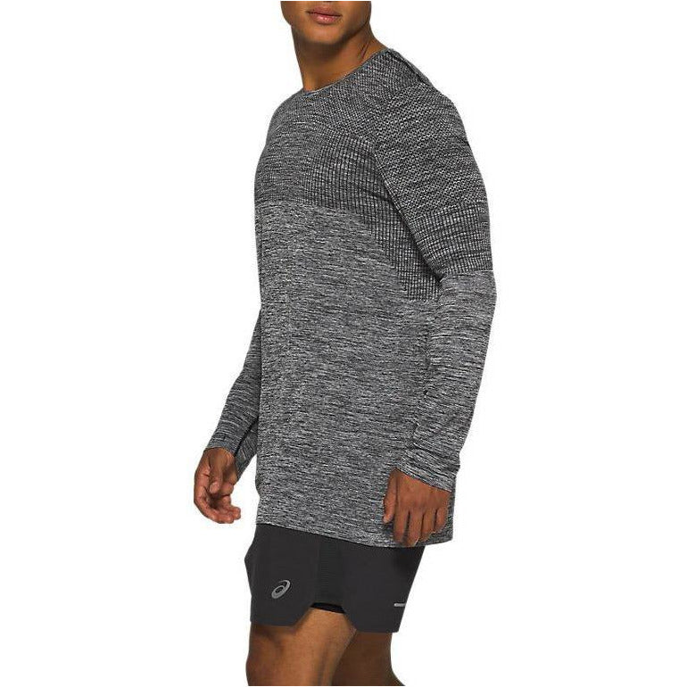 Mens Race Seamless Long Sleeve - Performance Black
