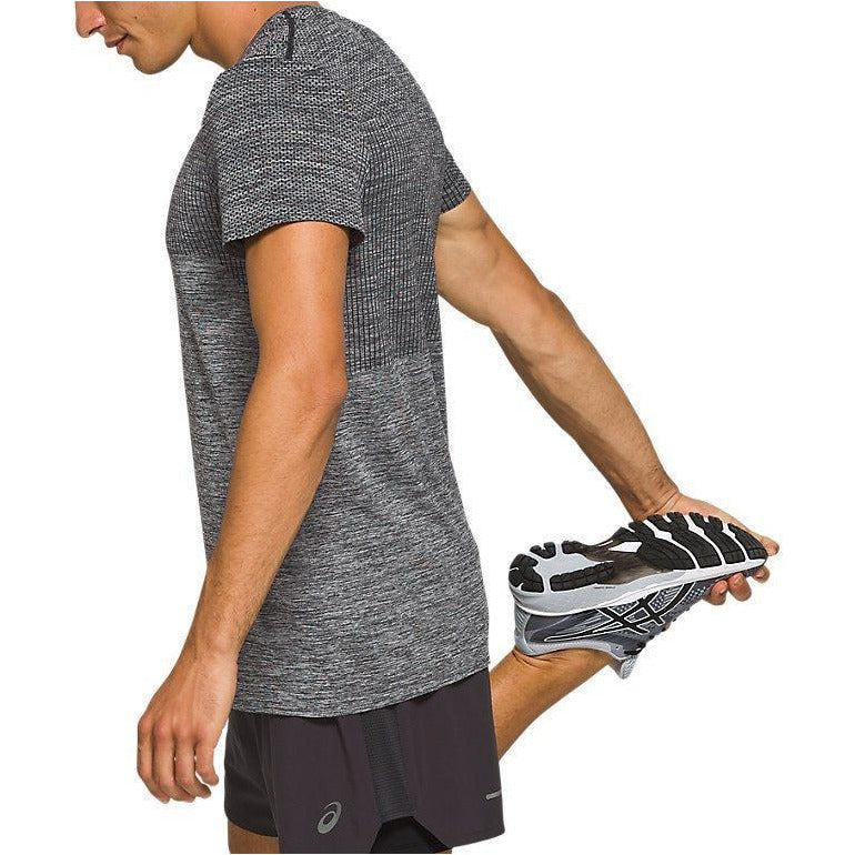 Mens Race Seamless Short Sleeve - Performance Black