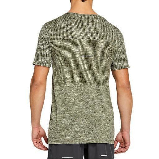 Mens Race Seamless Short Sleeve - Smog Green