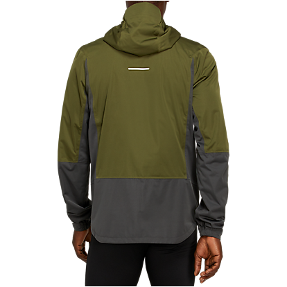 MEN'S WINTER ACCELERATE JACKET -Smog Green/Graphite Grey
