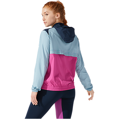 Womens Visibility Jacket - French Blue/Smoke Blue