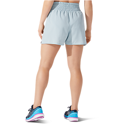 Womens Visibility Short - Smoke Blue