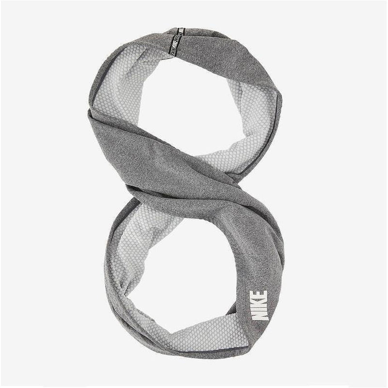 Nike Fleece Scarf - Heather Grey/White